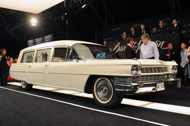 Chevrolet White Hearse