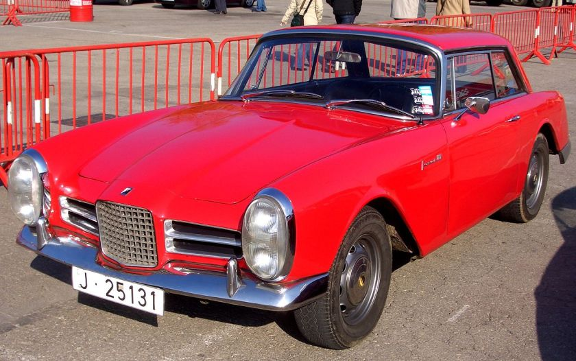 Coupé Facel-Vega Facel III.