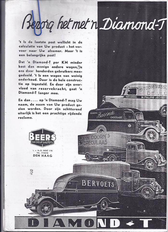 Diamond T Beers Ad