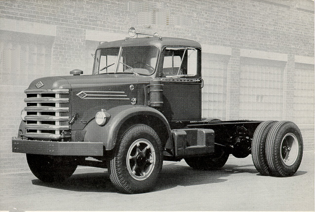 Diamond T Diesel Series 923DB, with set back front axle