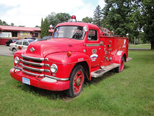 Diamond T Model 420 Fire Truck