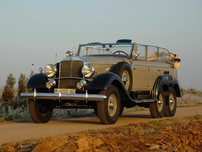 1934 - Mercedes-Benz G4, only 57 were ever produced