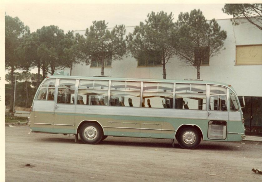 Factorias Zane SA va lliurar-li un Sava carrossat.