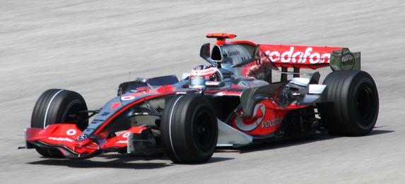 Fernando_Alonso_2007_2 Mercedes-Benz has sponsored the McLaren Formula One team since 1995.