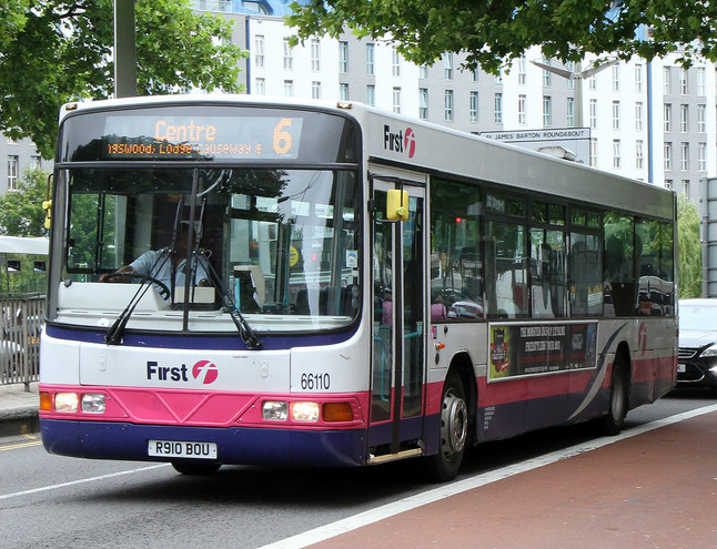 First Somerset & Avon Wright Renown bodied Volvo B10BLE in Bristol in June 2011