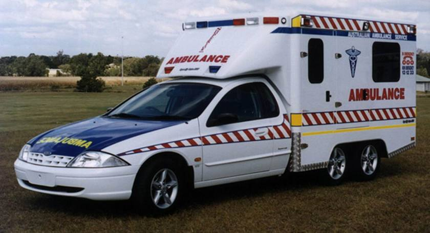 Ford 6x2 Trial Ambulance Australie