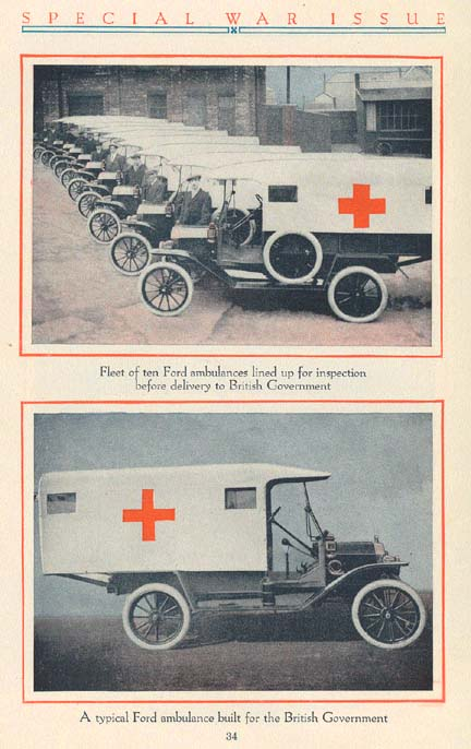 Ford Ambulances. P1