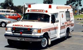 Ford F-250 ambulance