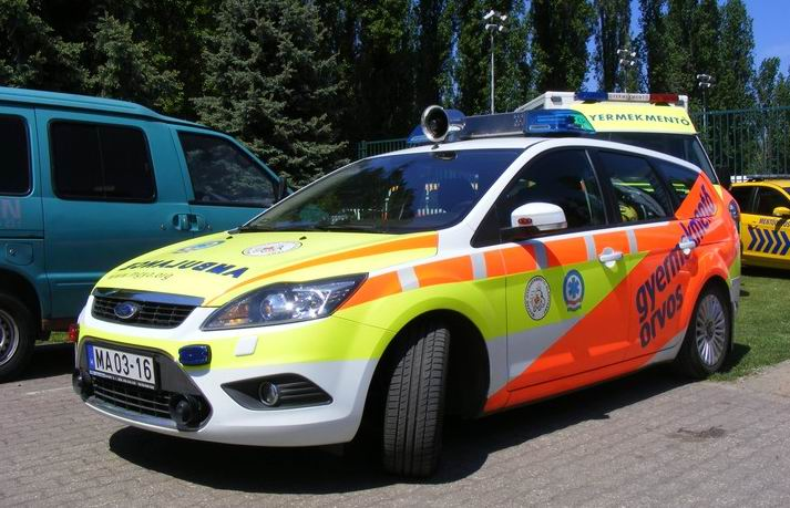 Ford Focus Pediatric Ambulance car