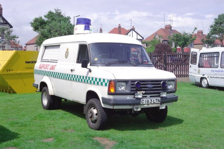 Ford Transit Ambulance Support Unit
