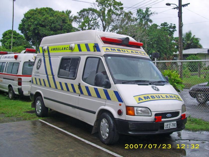 Ford Transit Fijie