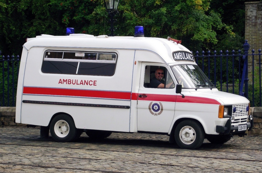 Ford Transit Mk 2 Ambulance