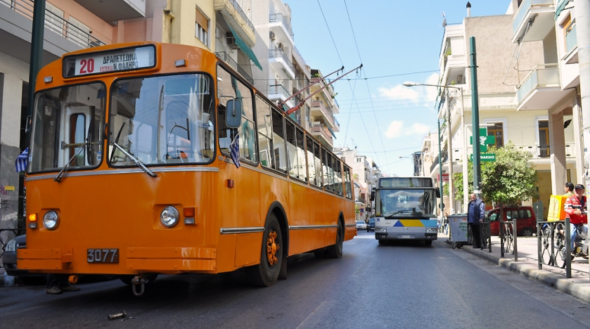 In Greece ZiU-9 in excursion route at Piraeus