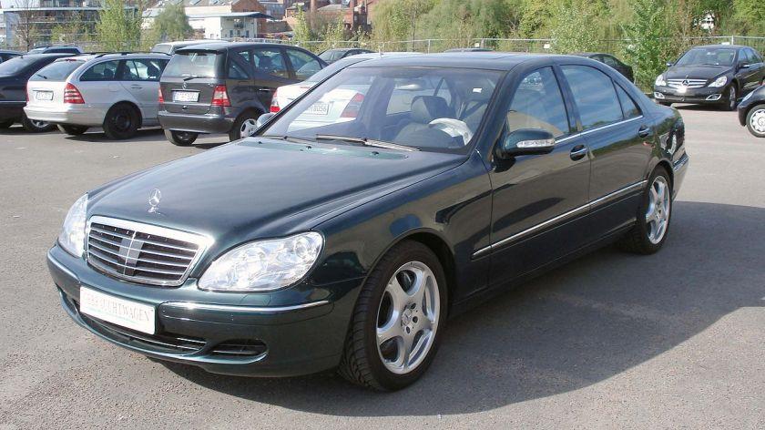 MB Black S 600 front