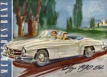 mercedes benz 190sl-a