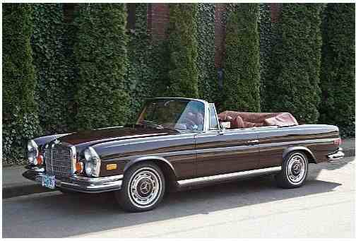 Mercedes Benz 280 SE Cabrio but only with 3.5 L