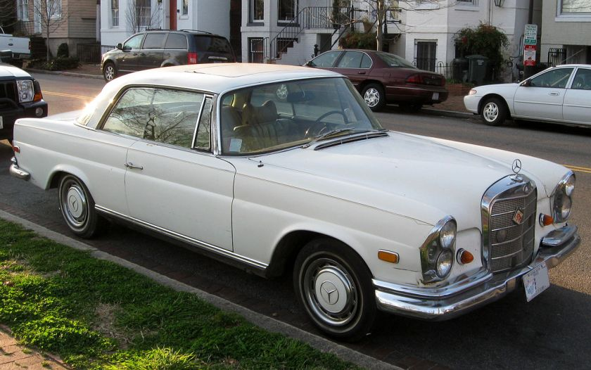 Mercedes-Benz 280SE coupe (US)