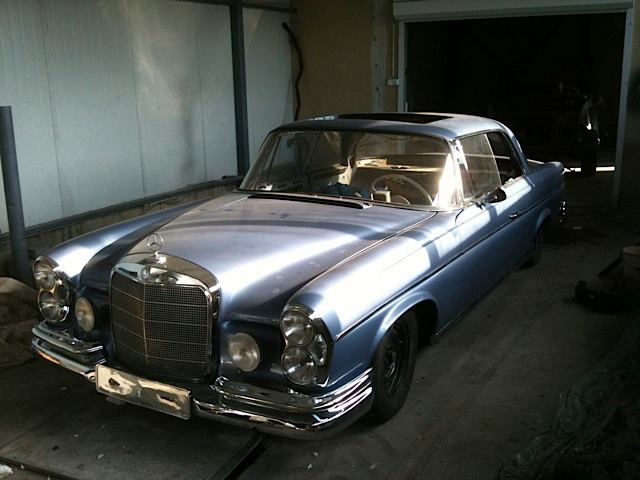 Mercedes Benz 300 SE Coupe