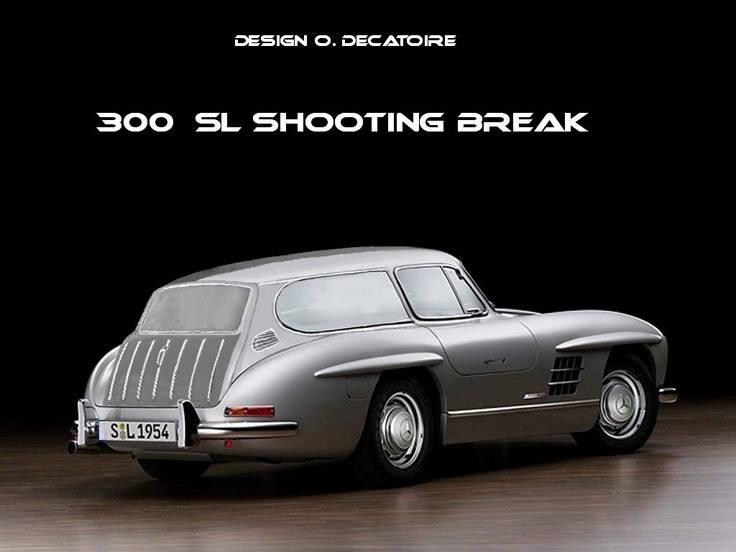 Mercedes Benz 300 SL Shooting Break - O.Decaroire