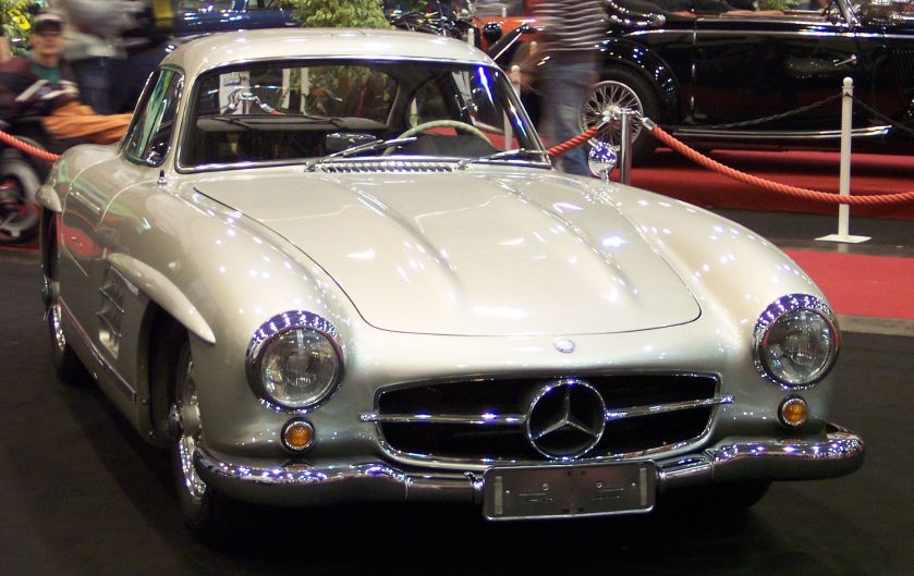 Mercedes Benz 300SL Coupe vr silver EMS