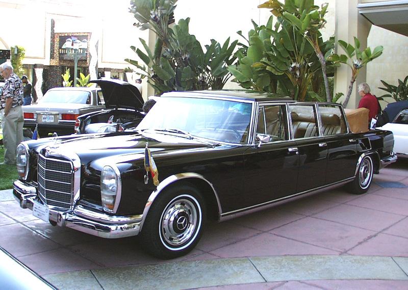 Mercedes-Benz 600 Landau