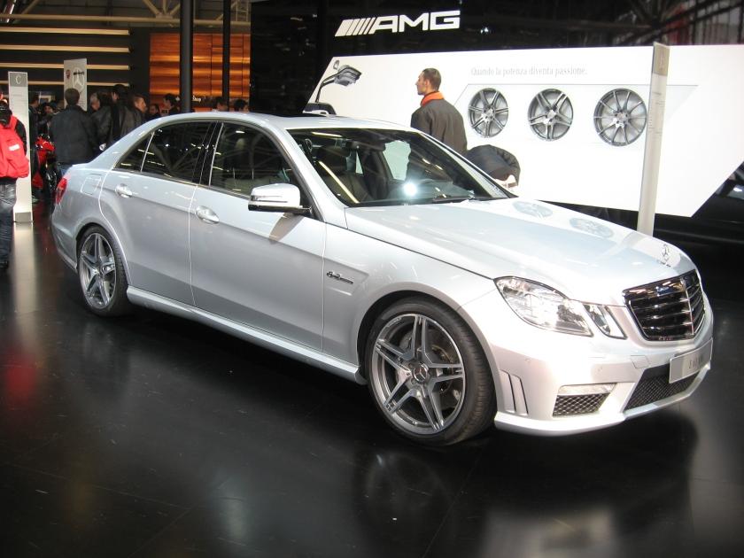 Mercedes-Benz E63-AMG