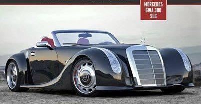 Mercedes Benz GWA 300 SLC x octavio