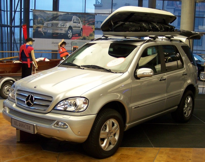 Mercedes Benz ML 400 CDI