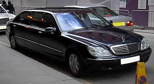 Mercedes Benz S600 pullman
