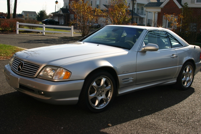 Mercedes Benz SL500 SILVER ARROW