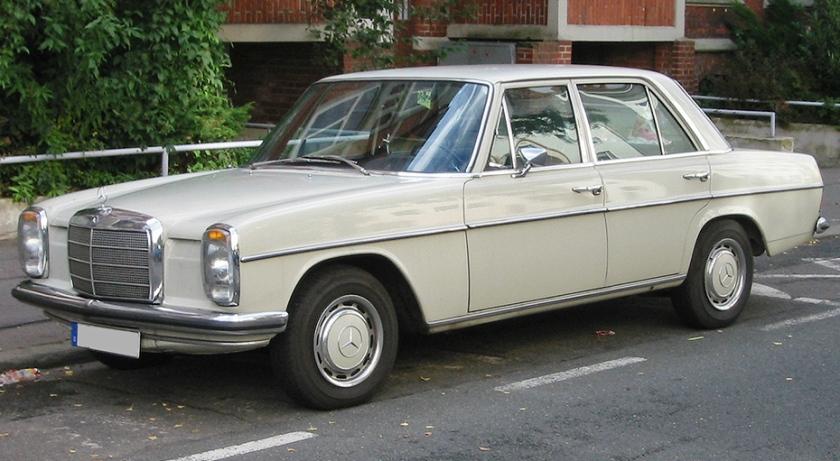 Mercedes Benz strichacht
