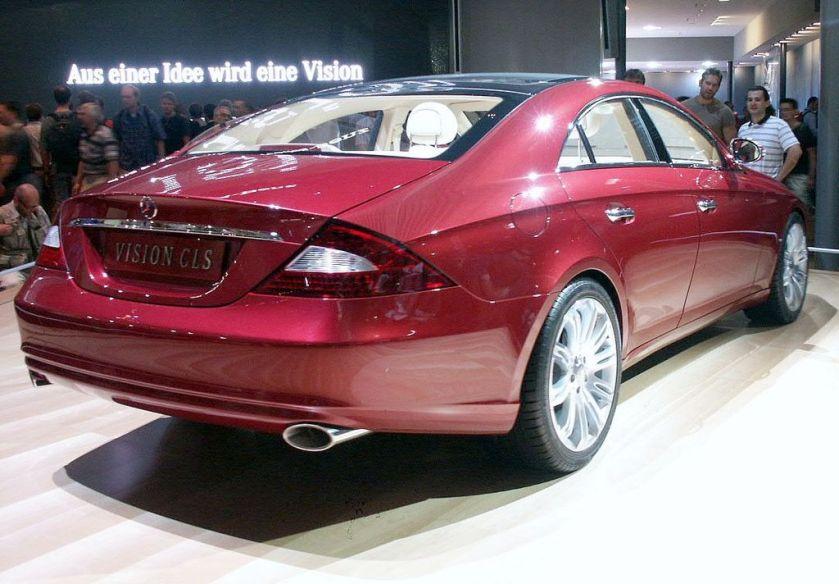 Mercedes Benz Vision CLS 2