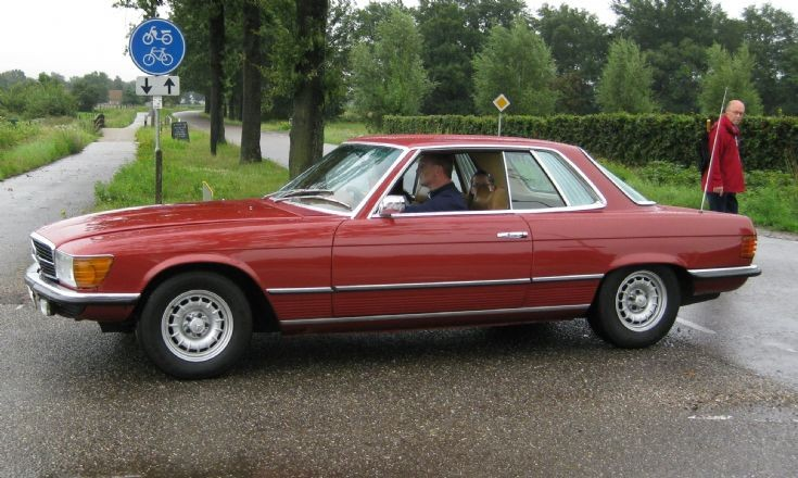 Mercedes – Benz 350 SLC