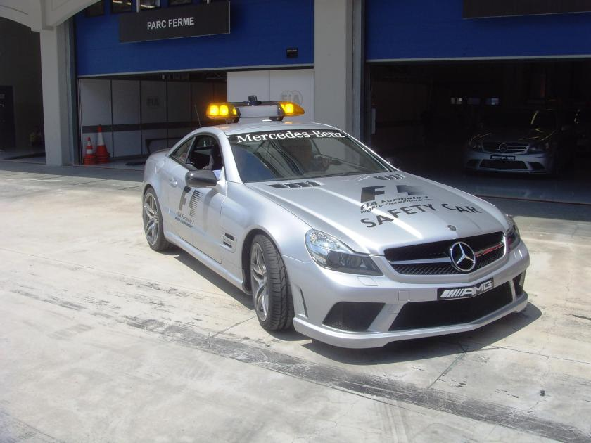 Mercedes Formule 1 Istanbul park safety car