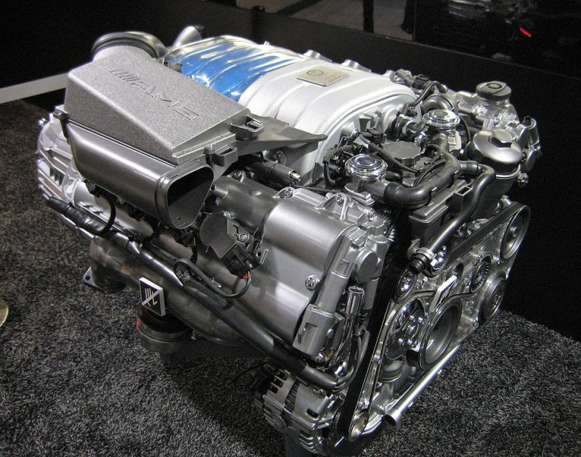 Mercedes M156 engine