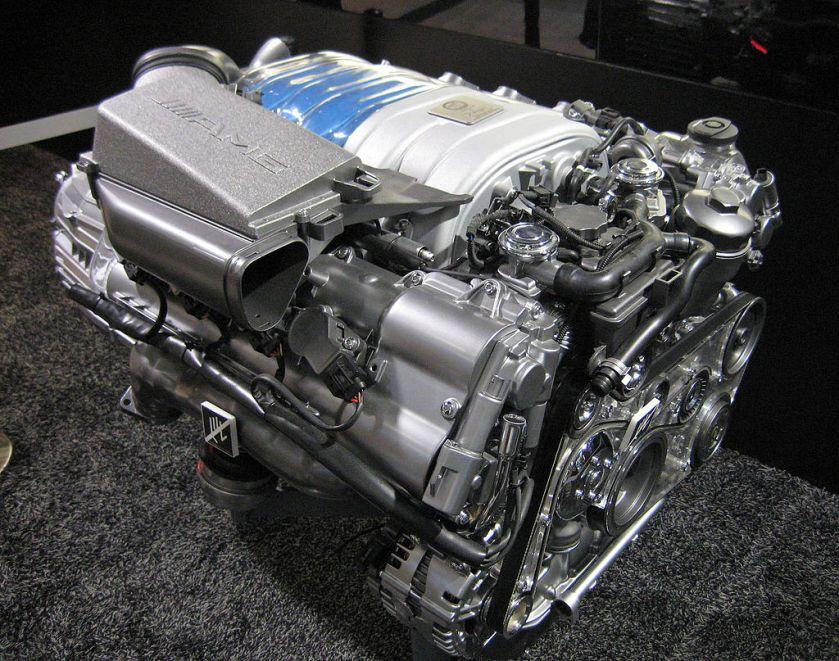 Mercedes M156 engine