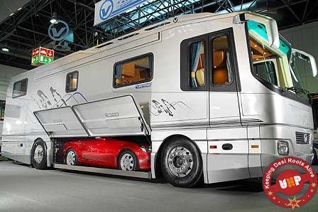 Mercedes Recreational Vehicle with Mercedes SLK