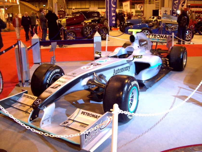 Mercedes returned as an entrant in GP racing as the Mercedes Petronas team
