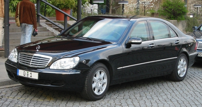 Mercedes s klasse 1 sst2