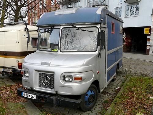 Mercedes UPS truck