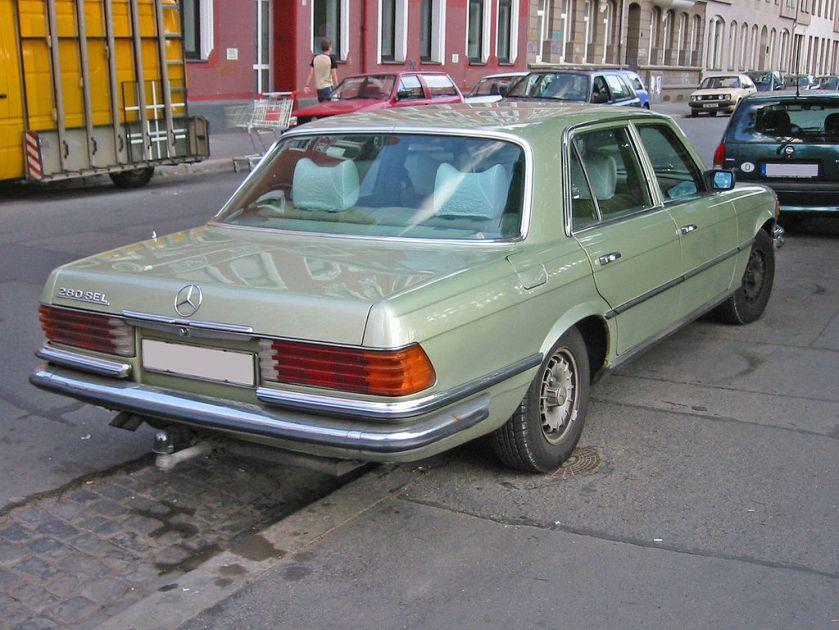 Mercedes w116 h sst