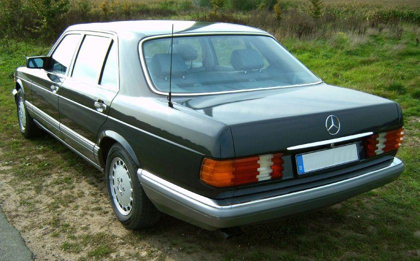 Mercedes W126 500SEL