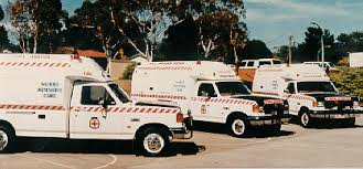 New fleet of Ford ambulances