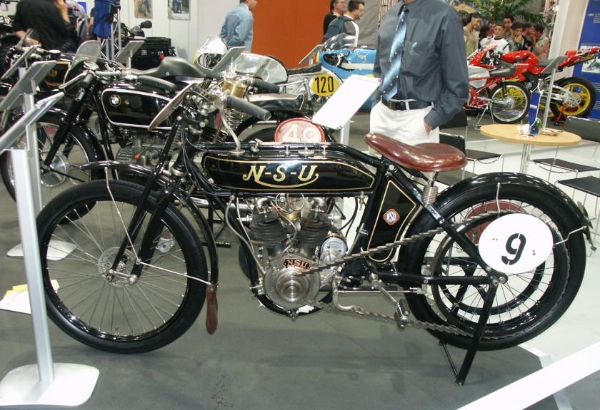 NSU Motorrad alt