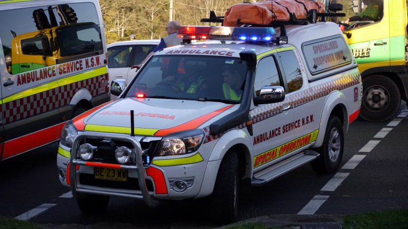 NSW Ford Ranger 4x4 Specialised Response Unit-Special Operations