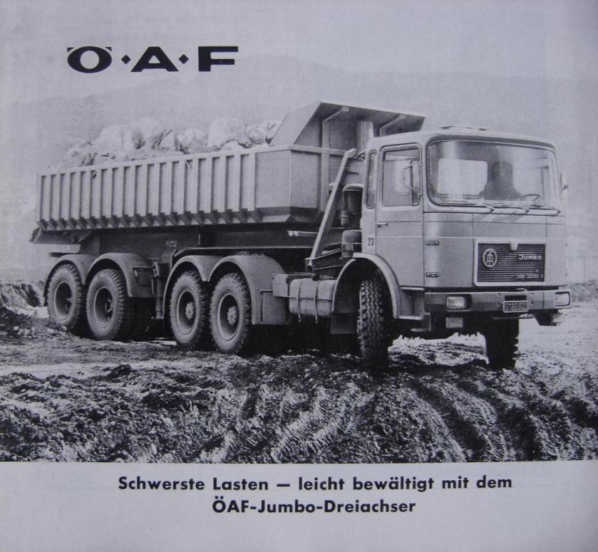 Oe.A.F. 38.320 V Jumbo PROSPEKT