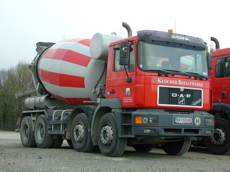 OEAF F200 Betonmischer Kloecher Basaltwerke RA330AR