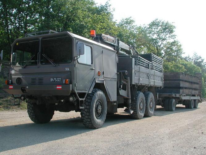 OeAF S-LKW 1 Generation Bundesherr BH79322 3