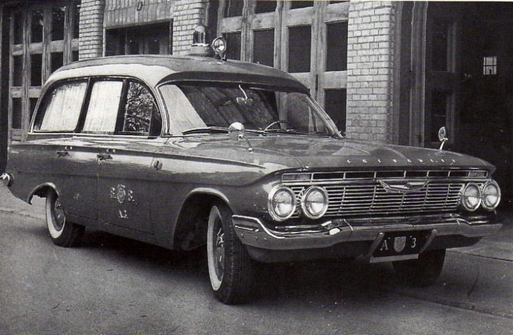 Old timer Chevrolet ambulance