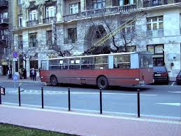 Old Ziu Soviet Trolleybus